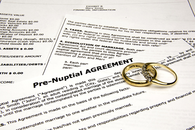 Divorce Series - Prenups: Marriage Insurance